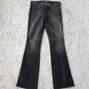 7 For All Mankind A pocket bootcut jeans gray 27